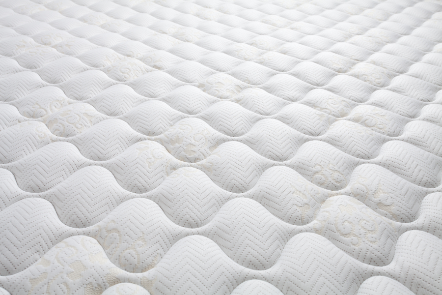 white clean mattress