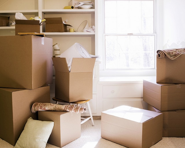 Preparing for moving homes by deep dry cleaning-min