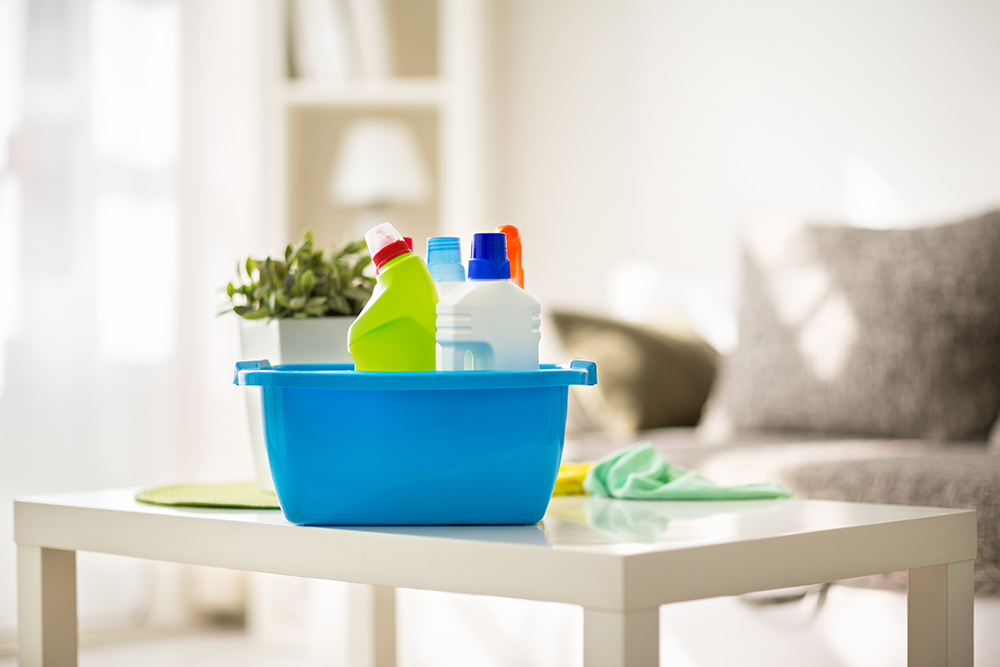 Cleaning products prepared for cleaning